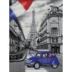 M AZ-1750 Diamond painting sada - Pařížská ulička
