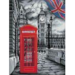 M AZ-1669 Diamond painting sada - V Londýně