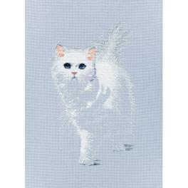 Vyšívací sada - Živá kočka