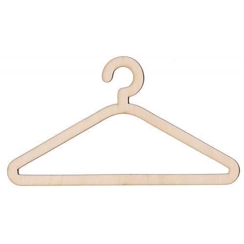 921-03 Dřevěný věšák na výšivky 20cm věšák na šaty