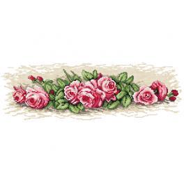 W 4559 Předloha online - Růžičky
