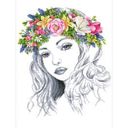 Předloha - Jarní dáma