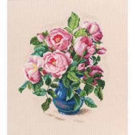 Vyšívací sada - Jemné poupata růži