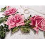 W 10176 Předloha ONLINE - Běhoun s růžemi 3D