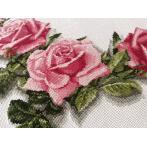 W 10178 Předloha ONLINE - Ubrus - Ubrus s růžemi 3D