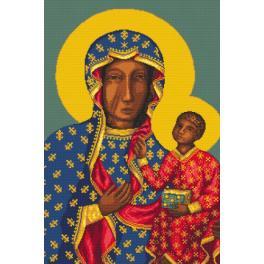 Sada s mulinkou a potiskem - Matka boží