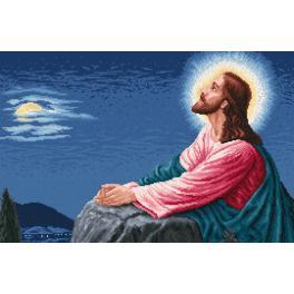 Sada s mulinkou a potiskem - Kristova modlitba
