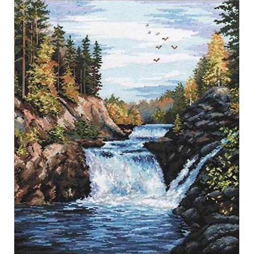 Vyšívací sada - Vodopád