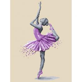 Vyšívací sada - Baletka - Kouzlo tance