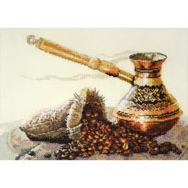 Vyšívací sada - Chuť kávy
