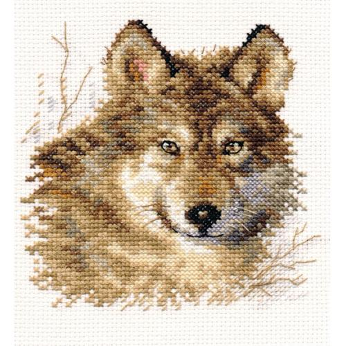 ALI 1-27 Vyšívací sada - Vlk