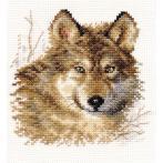 Vyšívací sada - Vlk