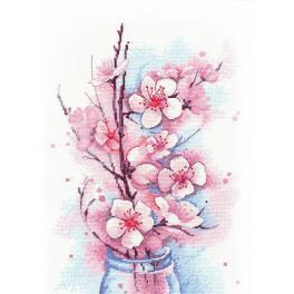 Vyšívací sada - Kvetoucí jabloň