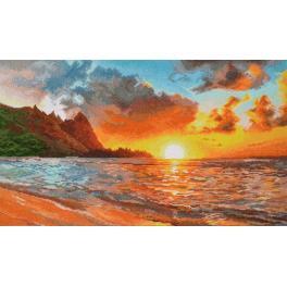 OV 917 Vyšívací sada - Západ slunce