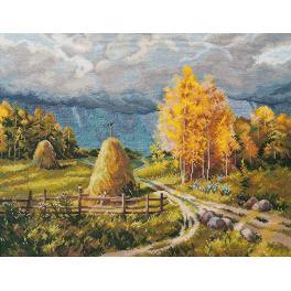 OV 1273 Vyšívací sada - Podzimní bouřka