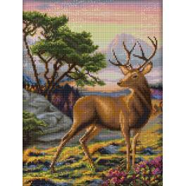 Diamond painting sada - Důstojný jelen