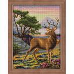 M AZ-1692 Diamond painting sada - Důstojný jelen