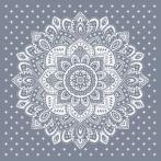 W 10623 Předloha ONLINE pdf - Ubrus s dekorativní růžicí