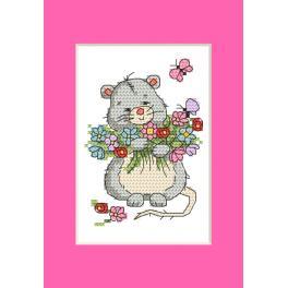 Předloha - Přání - Myška