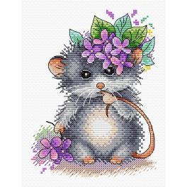 Vyšívací sada - Malá myška