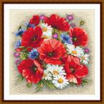 Z 10634 Vyšívací sada - Letní kouzlo květin