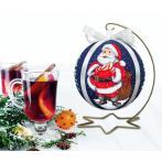GU 10641 Předloha - Vánoční koula s Mikulášem