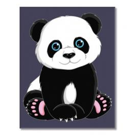 WD MINI16130005 Sada pro malování podle čísel - Panda