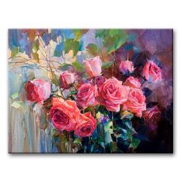 CZ 60320 Sada pro malování podle čísel - Krásná kytice
