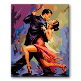 CZ RO68 Sada pro malování podle čísel - Tango