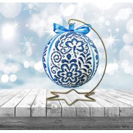 Předloha ONLINE pdf - Porcelánová vánoční koula