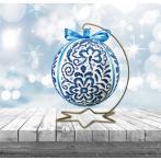 Vyšívací sada - Porcelánová vánoční koula