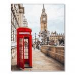 GX26716 Malování podle čísel - Symboly Londýna