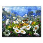 GX34089 Malování podle čísel - Letní motýli