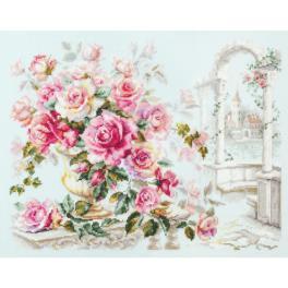 MN 110-011 Vyšívací sada - Růže pro princeznu