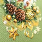 MN 100-245 Vyšívací sada - Rozsvícené Vánoce