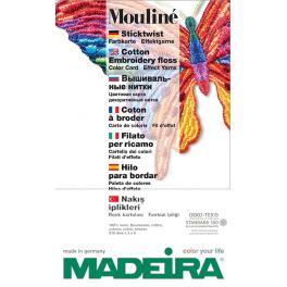 FK 123 Šablona barev firmy MADEIRA