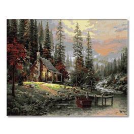 PC4050337 Malování podle čísel - Na horách