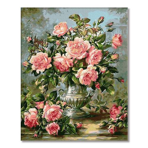 PC4050309 Malování podle čísel - Kytice růží