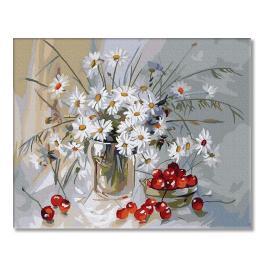 PC4050330 Malování podle čísel - Letní kytice
