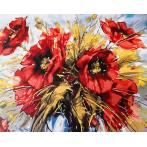 PC4050214 Malování podle čísel - Kytice máků