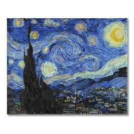 GX4756 Malování podle čísel - Hvězdná noc - Van Gogh