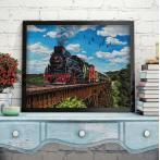 M AZ-1797 Diamond painting sada - Orient Express