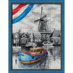 M AZ-1749 Diamond painting sada - Dánská řeka