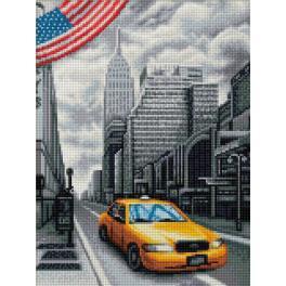 M AZ-1763 Diamond painting sada - New York