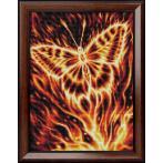 M AZ-1854 Diamond painting sada - Motýl v plamenech