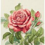 PAPD 7116 Vyšívací sada - Polštářek - Vintage růže