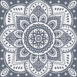 GU 10623-03 Předloha - Ubrousek s dekorativní růžicí