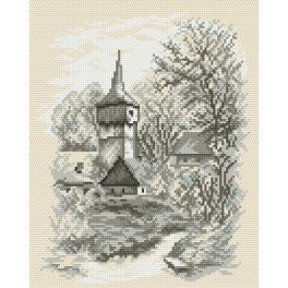 K 4035 Předtištěná kanava - Kostelíček