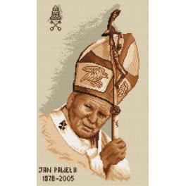 K 4038 Předtištěná kanava - Papež Jan Pavel II