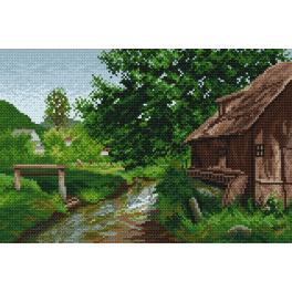 K 4026 Předtištěná kanava - Na vesnici - E. Zetsche